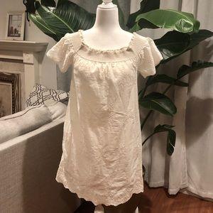 Zara embroidery dress